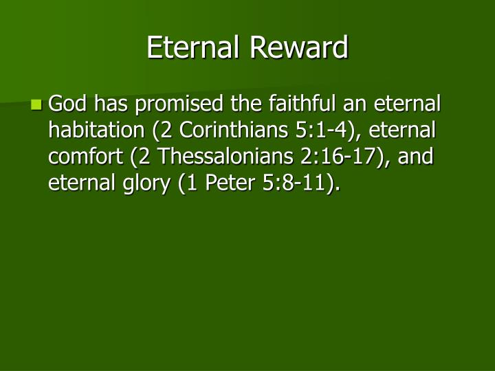 Eternal Reward