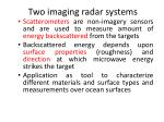two imaging radar systems1