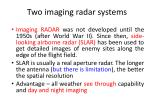 two imaging radar systems2