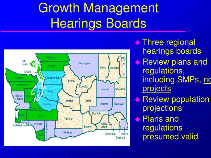 Growth Management Hearings Boards