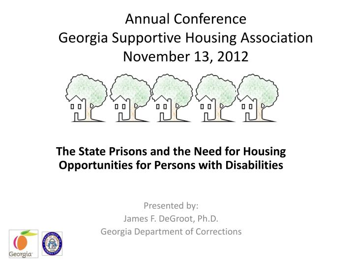 annual conference georgia supportive housing association november 13 2012 n.