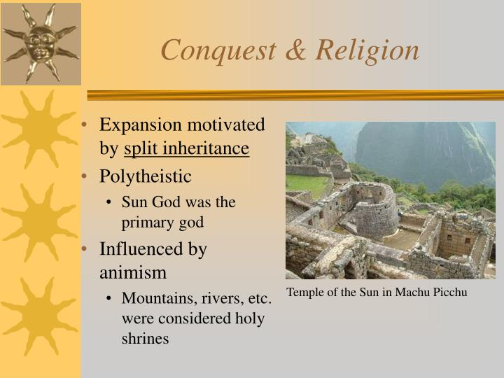 Conquest & Religion