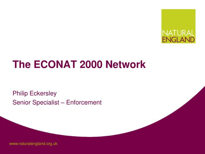 the econat 2000 network n.