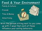 food your environment