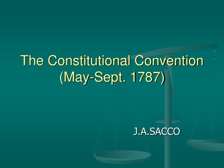 the constitutional convention may sept 1787 n.