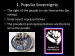 1 popular sovereignty
