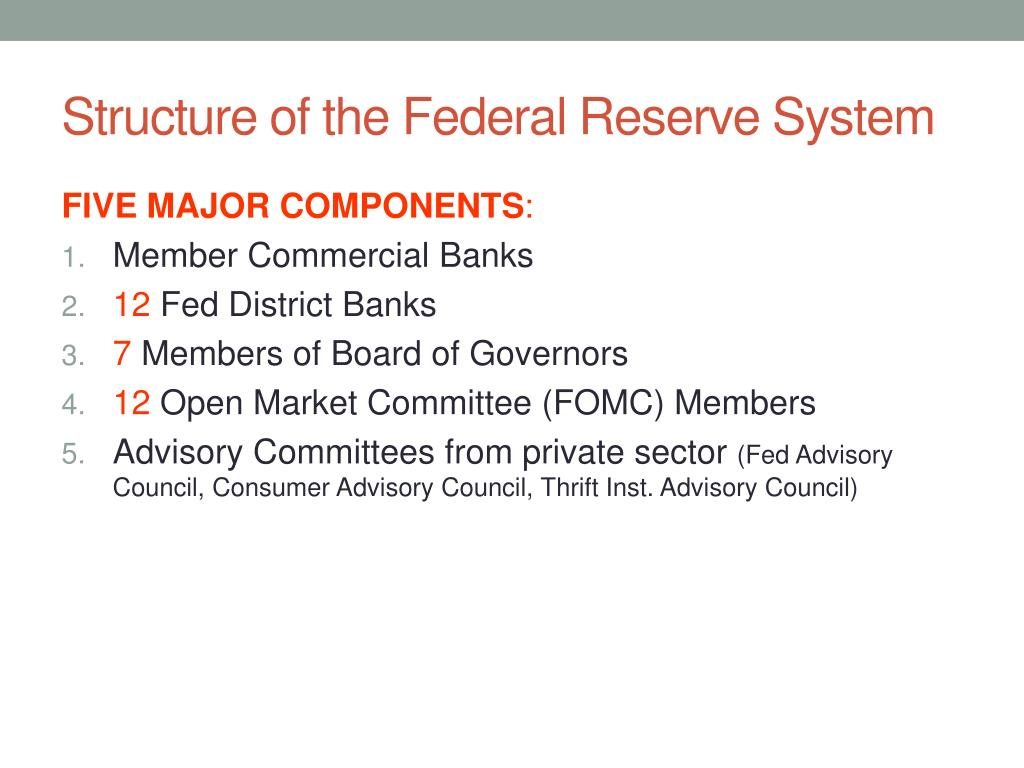 PPT - The Fed and Monetary Policy PowerPoint Presentation