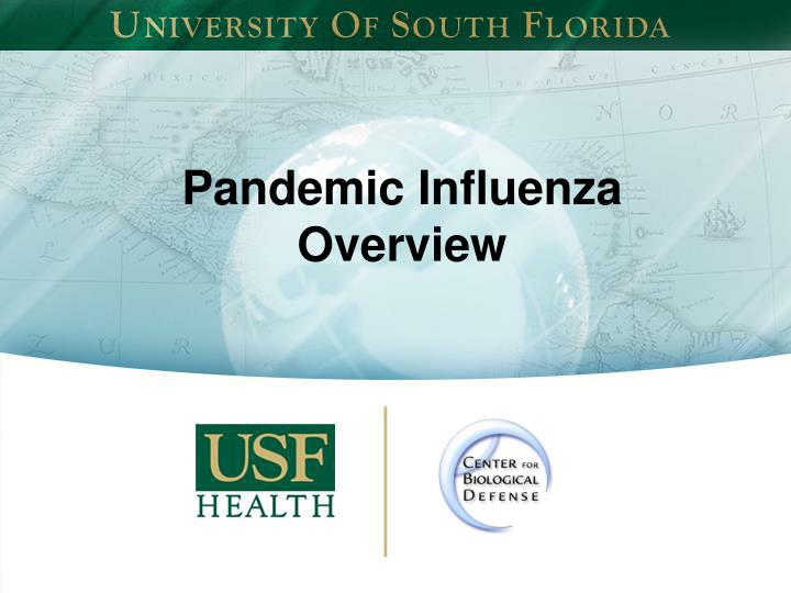 pandemic influenza overview n.