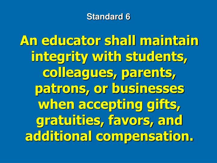 Standard 6