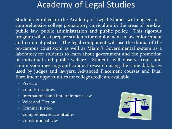 Academy of Legal Studies