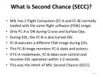 what is second chance secc