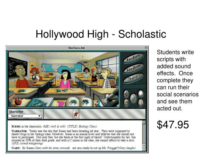 Hollywood High - Scholastic