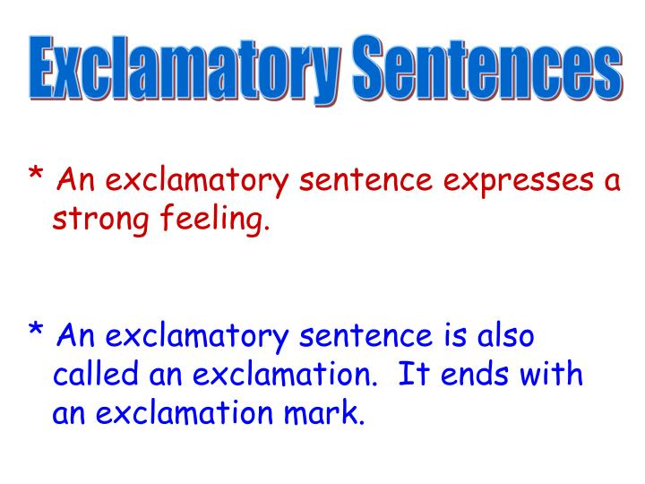 exclamatory essay Wow sentence for a personal essay how to write a narrative essay about yourself justin bieber, healthy living persuasive essay, best online essay service importance of teamwork in nursing name essay death in the sickroom analysis essay first world war poetry essay peer reflective essay between you and hamlet brown essays.