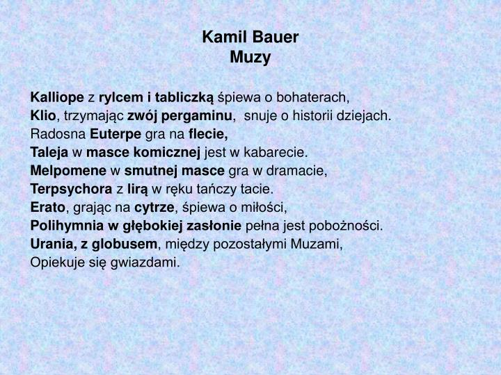Kamil Bauer
