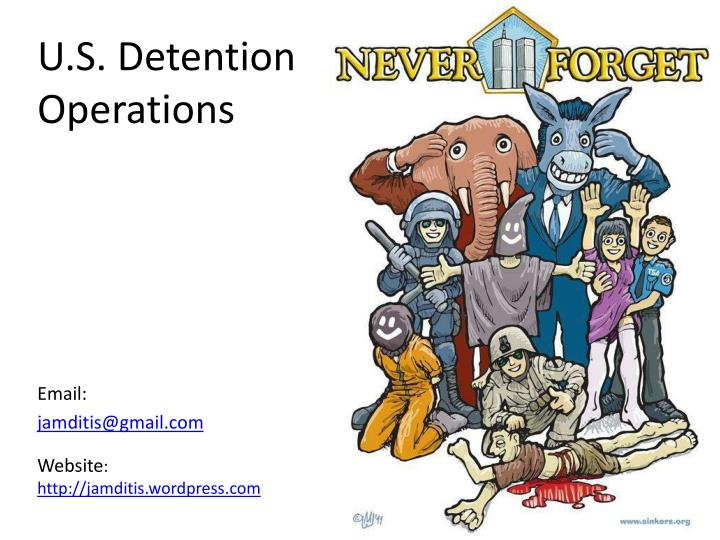u s detention operations n.