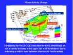 ocean salinity change
