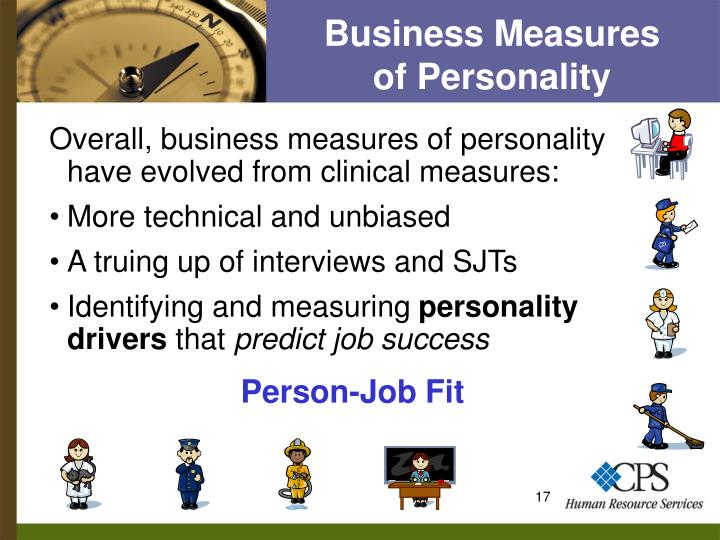 Business Measures       of Personality