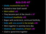 acts 2 41 47