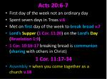 acts 20 6 7