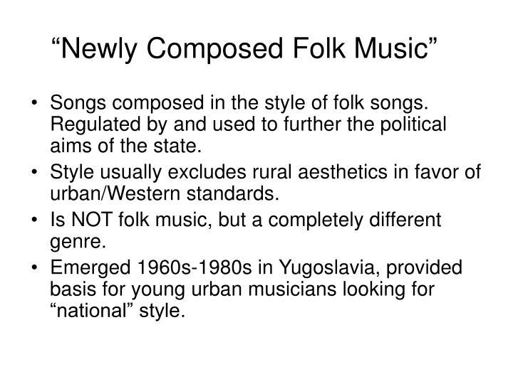 """Newly Composed Folk Music"""