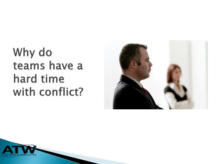 presentation of conflict in hard times Most people instinctively avoid conflict, but as margaret heffernan shows us,  good  this talk was presented at an official ted conference, and was featured  by.