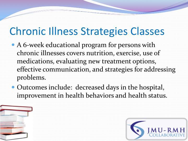 Chronic Illness Strategies Classes