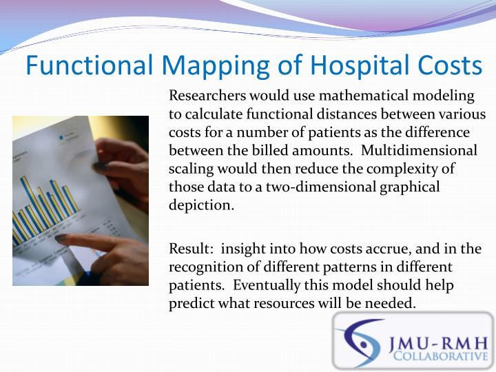 Functional Mapping of Hospital Costs