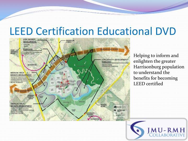 LEED Certification Educational DVD