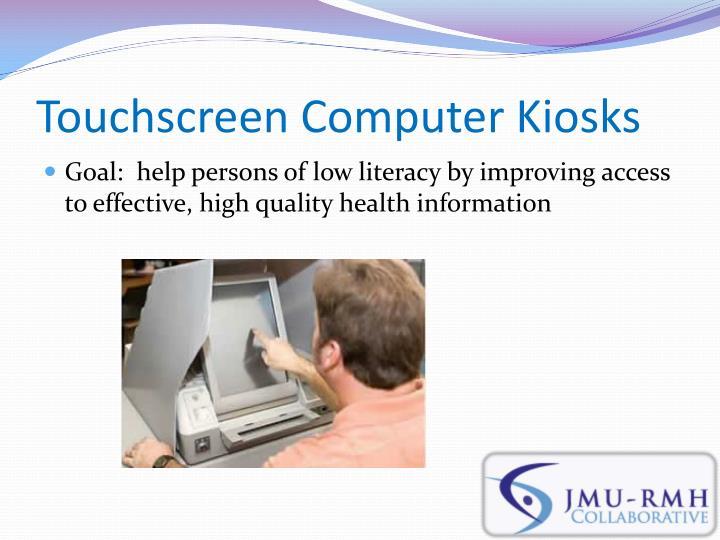 Touchscreen Computer Kiosks