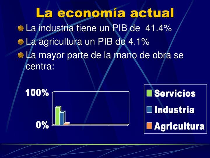 La economía actual