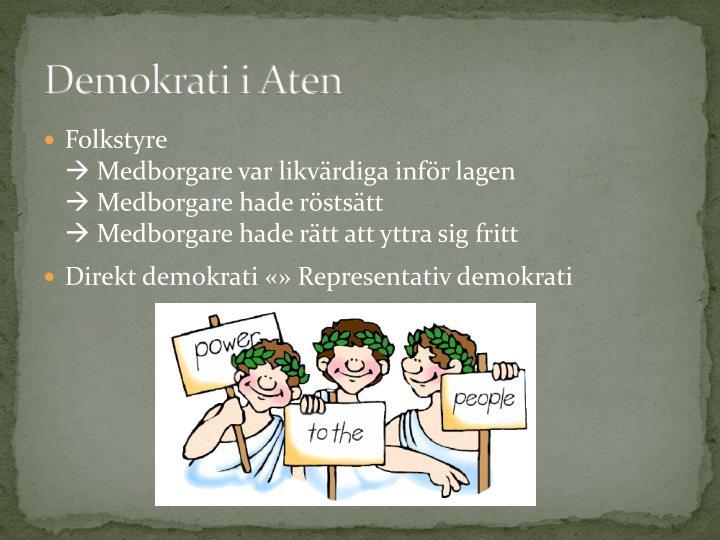Demokrati i Aten