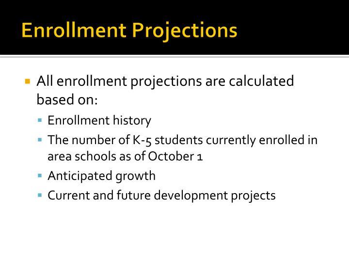 Enrollment Projections