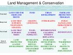 land management conservation