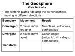 the geosphere plate tectonics2