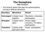 the geosphere plate tectonics3