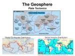 the geosphere plate tectonics4