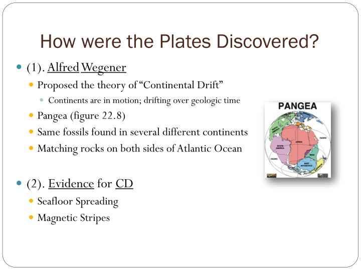How were the Plates Discovered?