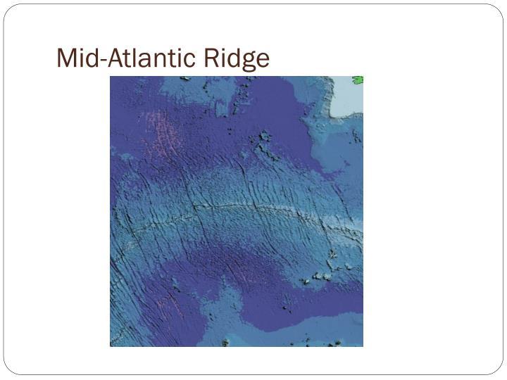 Mid-Atlantic Ridge