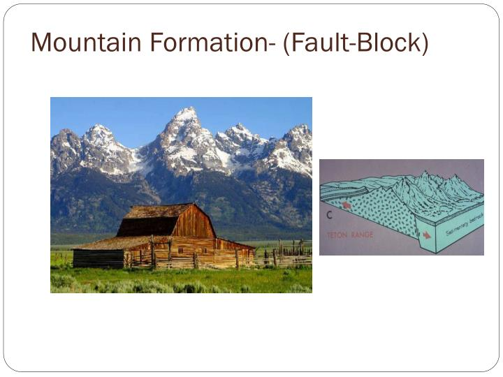 Mountain Formation- (Fault-Block)