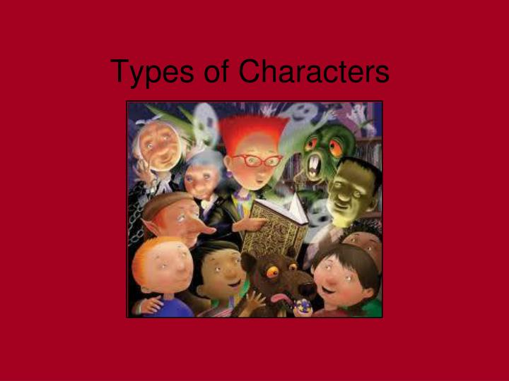 types of characters n.