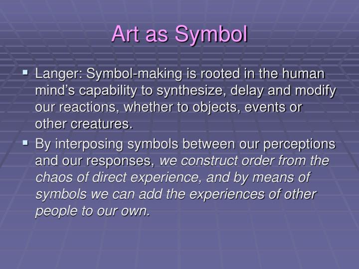 Art as Symbol