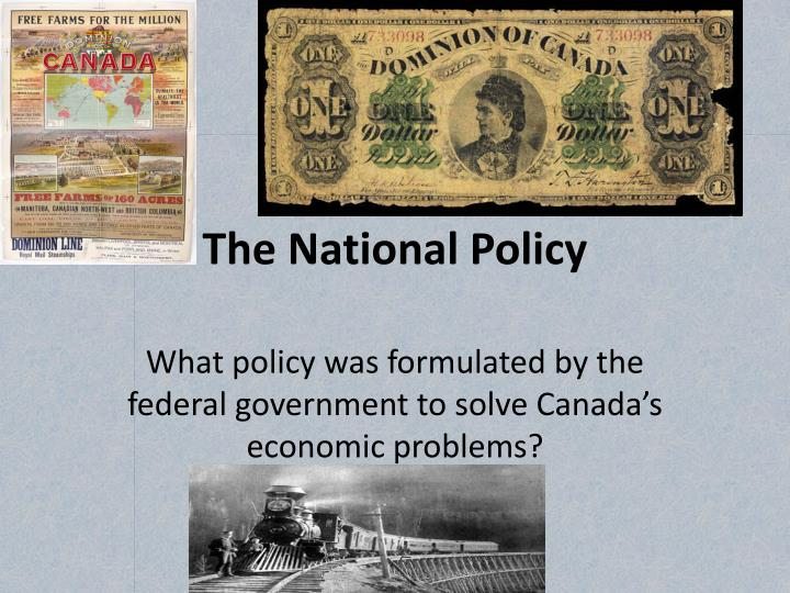 the national policy n.