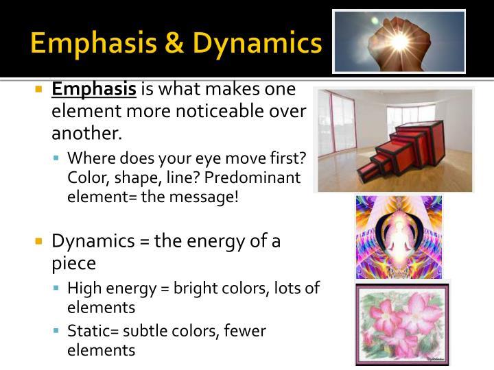 Emphasis & Dynamics