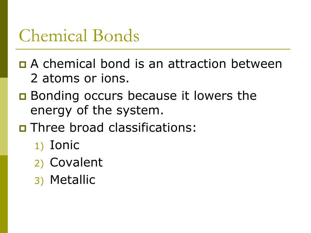 PPT - Unit 04: BONDING PowerPoint Presentation - ID:5326913