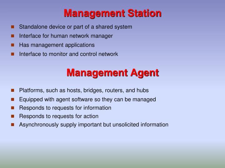 Management Station