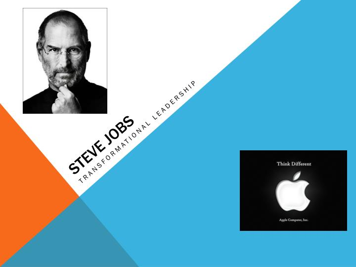 steve job transformative or transactional People jockey for position in transactional groups, whereas they share common goals in a transformational group (bass 1997) steve jobs is the son of adoptive parents clara and paul jobs his birth parents were both grad students from the university of wisconsin who gave their son away without a name.