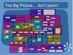 the big picture don t panic