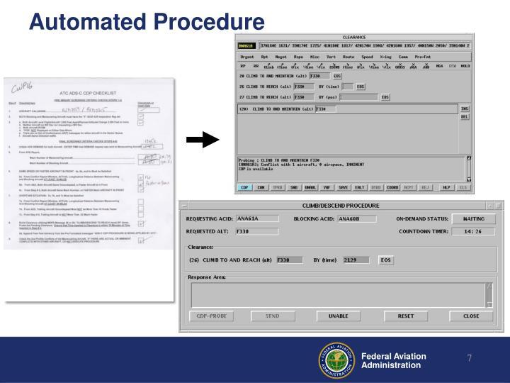 Automated Procedure