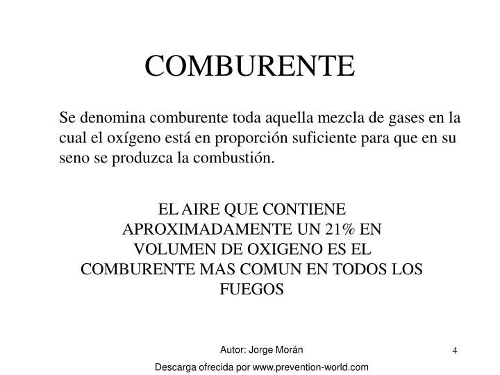 COMBURENTE