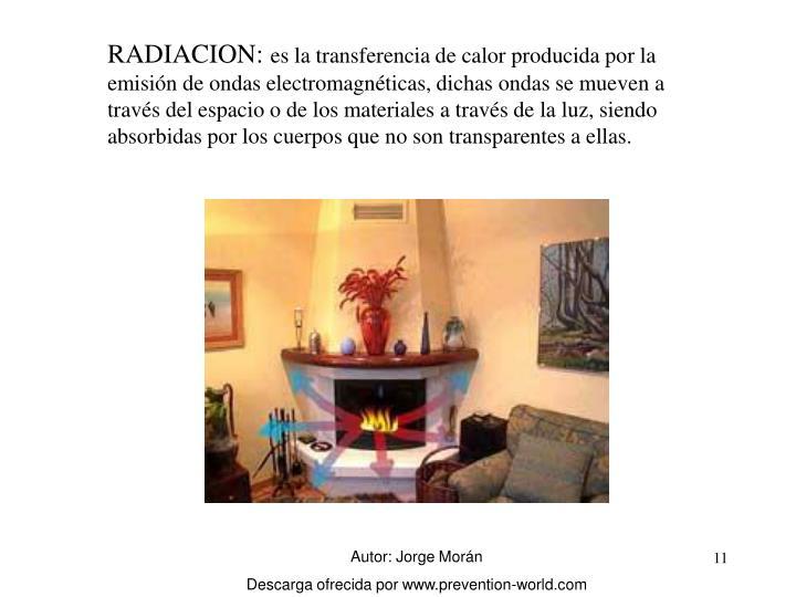 RADIACION: